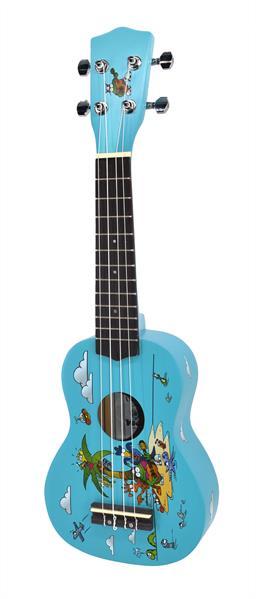 Voggenreiter Voggy Mini-Gitarre Black Ukulele Kindergitarre Akustik Gitarre